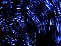 Priorità bassa blu dei fuochi d'artificio immagini stock libere da diritti
