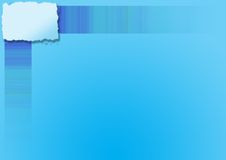 Priorità bassa blu del copyspace Fotografie Stock Libere da Diritti