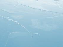 Priorità bassa blu del ghiaccio Fotografia Stock