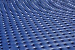 Priorità bassa blu del metallo Fotografia Stock