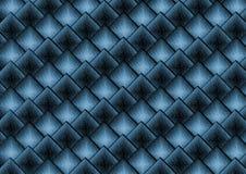Priorità bassa blu del tetto Fotografie Stock Libere da Diritti