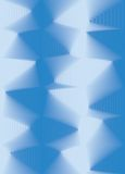 Priorità bassa blu dell'estratto 3d illustrazione vettoriale