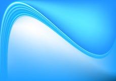 Priorità bassa blu dell'onda Fotografia Stock