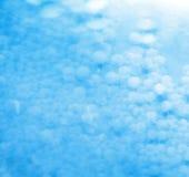 Priorità bassa blu della bolla Fotografie Stock Libere da Diritti