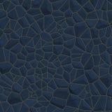 Priorità bassa blu della parete di pietra Immagine Stock