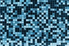 Priorità bassa blu delle mattonelle Immagini Stock Libere da Diritti
