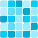 Priorità bassa blu delle mattonelle di mosaico Immagine Stock