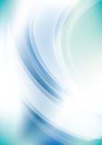 Priorità bassa blu di energia Fotografia Stock