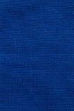 Priorità bassa blu di struttura del tessuto Fotografie Stock