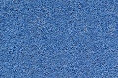 Priorità bassa blu di struttura della pista del tartan Immagine Stock