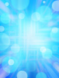 Priorità bassa blu di Techno Fotografia Stock