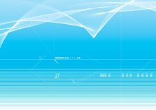 Priorità bassa blu di vettore Illustrazione di Stock