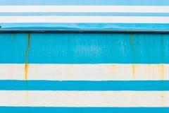 Priorità bassa blu e bianca Immagine Stock