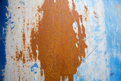 Priorità bassa blu ed arancione Immagine Stock