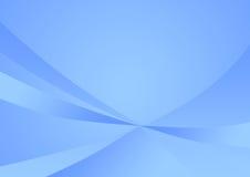 Priorità bassa blu molle astratta Fotografia Stock