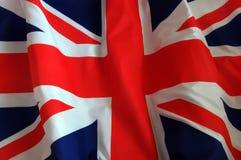 Priorità bassa britannica della bandierina Fotografia Stock