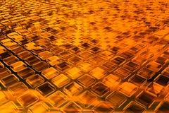 priorità bassa burning 3D Immagine Stock Libera da Diritti