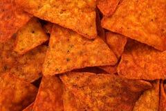 Priorità bassa calda dei chip di cereale Fotografia Stock Libera da Diritti