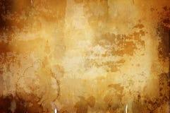 Priorità bassa calda dell'annata con il bordo scuro Immagini Stock