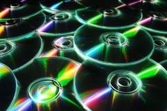Priorità bassa CD Immagini Stock