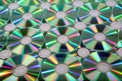 Priorità bassa CD Immagine Stock