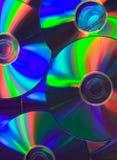 Priorità bassa CD immagine stock libera da diritti