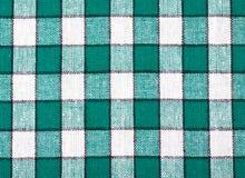 Priorità bassa Checkered della tessile Fotografie Stock