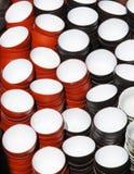 Priorità bassa cinese delle tazze di tè della porcellana Immagini Stock Libere da Diritti