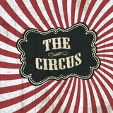 Priorità bassa classica del circo Immagini Stock