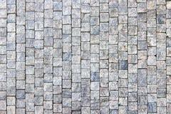 Priorità bassa cobblestoned della pavimentazione del granito Immagine Stock Libera da Diritti