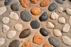 Priorità bassa colorata delle pietre Fotografia Stock