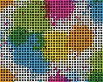 Priorità bassa Colourful royalty illustrazione gratis