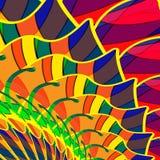 Priorità bassa colourful astratta da un multi-colored Immagini Stock Libere da Diritti