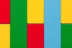 Priorità bassa Colourful del mattone del giocattolo Fotografie Stock