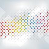 Priorità bassa Colourful del pixel Fotografia Stock
