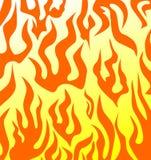 Priorità bassa con fuoco illustrazione di stock