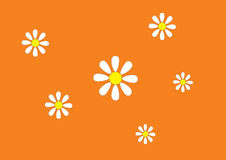 Priorità bassa con i fiori illustrazione di stock