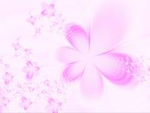 Priorità bassa con i fiori Immagini Stock Libere da Diritti