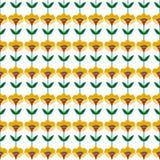 Priorità bassa con i fiori astratti Immagini Stock Libere da Diritti