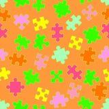 Priorità bassa con i puzzle Fotografia Stock