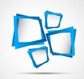 Priorità bassa con i quadrati Fotografie Stock Libere da Diritti