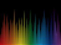 Priorità bassa con le bande del Rainbow Immagine Stock Libera da Diritti