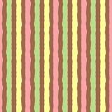 Priorità bassa con le bande verticali colorate Spazzola ruvida dipinta modello senza cuciture Fotografie Stock Libere da Diritti