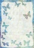 Priorità bassa con le farfalle Immagine Stock Libera da Diritti