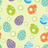 Priorità bassa con le uova di Pasqua illustrazione di stock