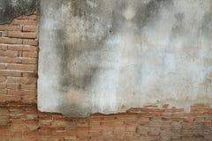 Priorità bassa concreta incrinata della parete dell'annata, vecchia parete immagini stock libere da diritti
