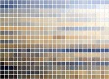 Priorità bassa coperta di tegoli del blue&beige Fotografie Stock
