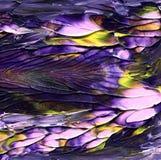 Priorità bassa cosmica astratta Struttura mista creativa della pittura arte unica Fotografia Stock Libera da Diritti