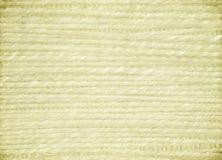 Priorità bassa costolata della tela di canapa della crema del tessuto dell'erba Fotografia Stock Libera da Diritti