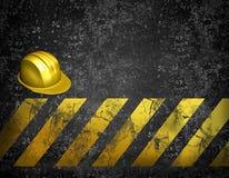 Priorità bassa in costruzione Immagini Stock